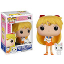 Figurine Pop! Sailor Venus et Artemis - Sailor Moon