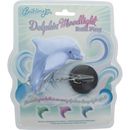 Dolphin Moodlight Bath Plug - Blue