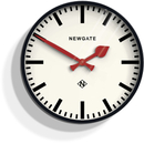 Newgate Putney Wall Clock - Black