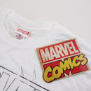 Marvel Spiderman Lines Men's T-Shirt - White