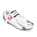 Force Race Carbon Cycling Shoes - White