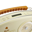 GPO Rydell Nostalgic DAB Radio - Cream/Brown