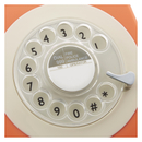 GPO Retro 746 Rotary Dial Telephone - Orange