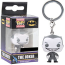 DC Comics Black and White Joker Pop! Keychain