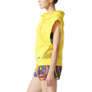 adidas Women's Stellasport Sleeveless Gym Hoody - Yellow