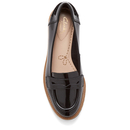 Griffin Milly Patent Loafers - Black
