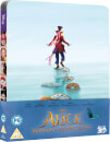 Alice im Wunderland: Hinter den Spiegeln 3D (enthält 2D Version) - Limited Edition Steelbook (UK Edition)