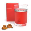 Red Flower Italian Blood Orange Petal Top Candle