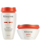 Kérastase Nutritive Bain Satin 1 250ml & Masquintense Cheveux Fins (For Thin Hair) 200ml