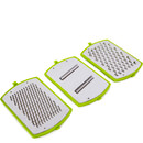 Tower T80420 3 in 1 Grater - Green/Graphite