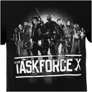 DC Comics Men's Suicide Squad Taskforce X T-Shirt - Black