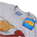DC Comics Bombshells Men's Supergirl T-Shirt - Grey