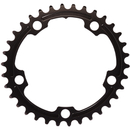 AbsoluteBLACK 110BCD 5 Bolt Spider Mount Oval Chain Ring (Premium)