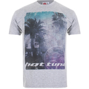 T-Shirt Homme Hot Tuna Palm Graphic -Gris Chiné