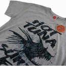 Hot Tuna Men's Sketchy Fish T-Shirt - Grey