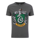 T-Shirt Harry Potter Serpentard Bouclier - Gris