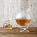 Globe Glass Whisky Decanter