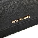 12b89ee84f1f3a MICHAEL MICHAEL KORS Women's Bedford Large Flat Wallet - Black ...