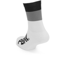 PBK Race High Cuff Socks - White/Black/Grey
