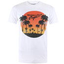 Beverly Hills Cop Men's Sunset T-Shirt - White