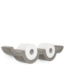 Lyon Beton Concrete Cloud Toilet Paper Shelf - Small