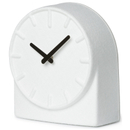 LEFF Amsterdam Felt Table Clock White With Black Hands