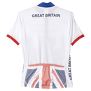 adidas Women's Team GB Replica Cycling Short Sleeve Jersey - White