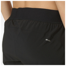 adidas Women's Gym Two-in-One Training Shorts - Black/Yellow