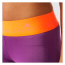 adidas Women's Stella Sport Workout Training Shorts - Purple