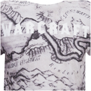 Warcraft Men's Map T-Shirt - White