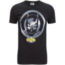 DC Comics Men's Batman Coin T-Shirt - Black