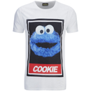 Cookie Monster Men's Street Cookie Monster T-Shirt - White