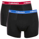 Head Men's 2-Pack Boxers - Black/Red/Blue