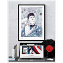 Spock's Brain Limited Edition Giclee Art Print - Timed Sale