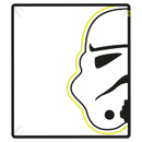 Star Wars Classic Stormtrooper Coral Fleece Blanket - 120 x 150cm