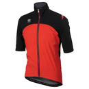 Sportful Fiandre Windstopper LRR Short Sleeve Jacket - Red/Black