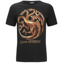 Game of Thrones Men's Targaryen Sigil T-Shirt - Black