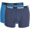 Puma Men's 2-Pack Boxers - Blue/Navy