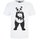 DC Comics Men's Suicide Squad Panda T-Shirt - Black
