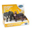 Papo Wild Animal Kingdom: Display Box Wild Animals 2 (3 Figurines)