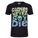 Goonies Mens Never Say Die T-Shirt - Zwart