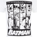 DC Comics Men's Batman I am Batman T-Shirt - White