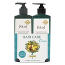 A'kin Unscented Shampoo & Unscented Conditioner Duo 500ml