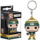 Porte-Clef Pocket Pop! NFL - Aaron Rodgers