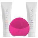 FOREO Holiday Cleansing Collection - (LUNA Mini 2) Fuchsia