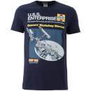 Star Trek Men's Original Enterprise T-Shirt - Black
