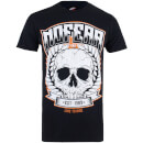 No Fear Men's Skull Wreath T-Shirt - Black