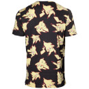 Pokemon All Over Pikachu Print T-Shirt - Black