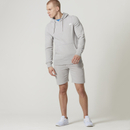 Tru-Fit Zip Sweatshorts - Grey - XL - Grey