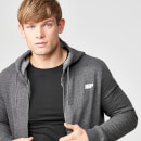 Tru-Fit Zip Up Hoodie - Charcoal - S - Charcoal